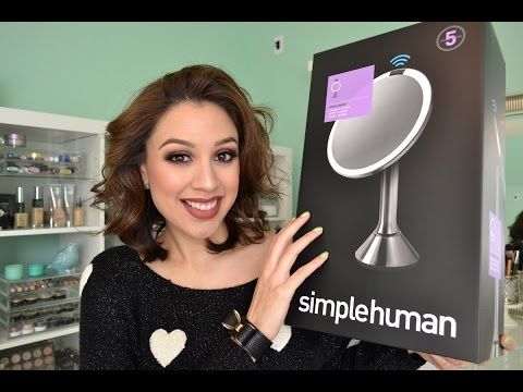 SimpleHuman Sensor Mirror | Review