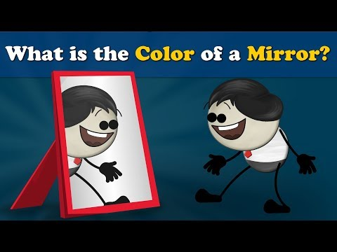 What is the Color of a Mirror? | #aumsum #kids #science #education #children