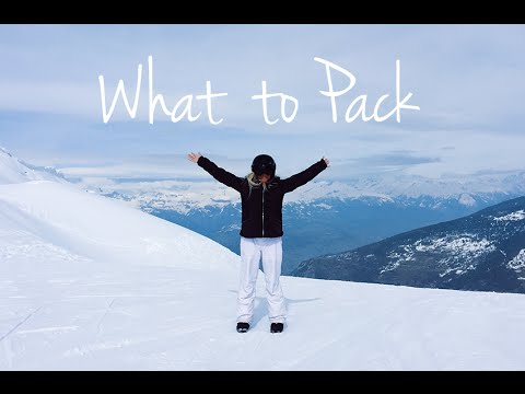 WHAT TO PACK SKIING/SNOW BOARDING | PETITE SIDE OF STYLE