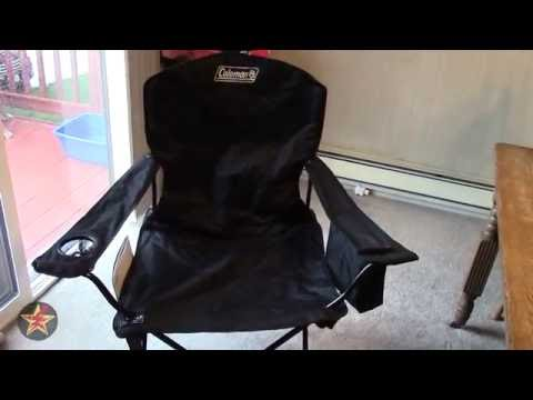 Coleman Camping Oversized Quad Chair with Cooler Review