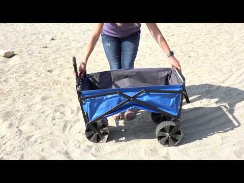 Large Folding Beach Wagon