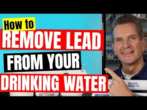 Best Way to REMOVE LEAD from Your Family's Drinking water!