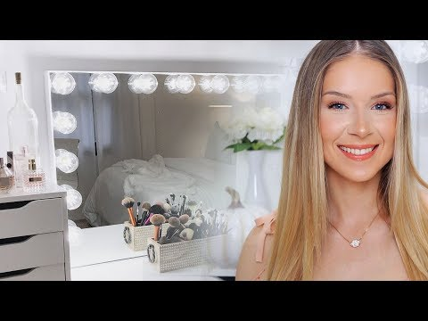 Impressions Vanity HOLLYWOOD GLOW® PRO VANITY MIRROR | Unboxing + Review