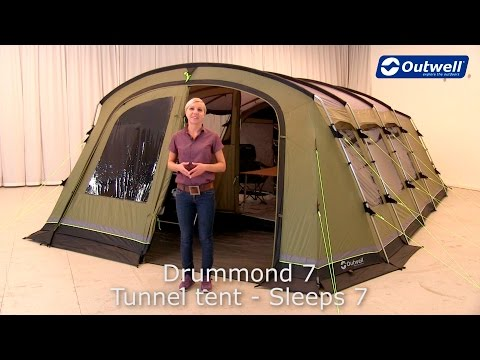Outwell Drummond 7 Tent | Innovative Family Camping