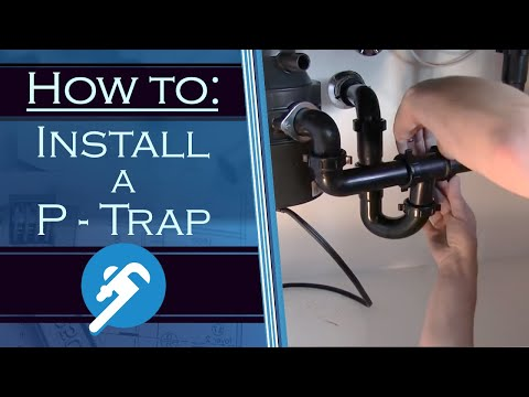 How to Install a P Trap - PlumbersStock.com