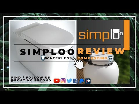 SIMPLOO REVIEW- OFF-GRID ECO COMPOST/ WATERLESS TOILET - onboard our Narrowboat, unboxing and review