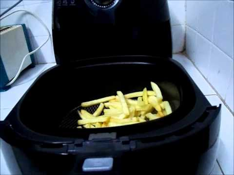 Philips Airfryer - Cooking Frozen French Fries