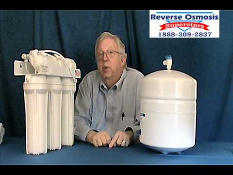 Reverse Osmosis Water Filter System Removes Fluoride