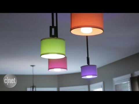 A smart lighting setup for the CNET Smart Home