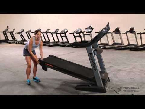 How to Fold up a Treadmill