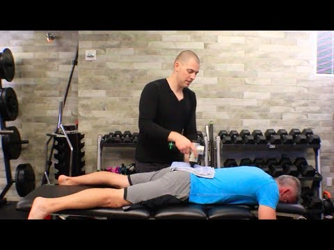 Spine Mobilization with the Hypervolt