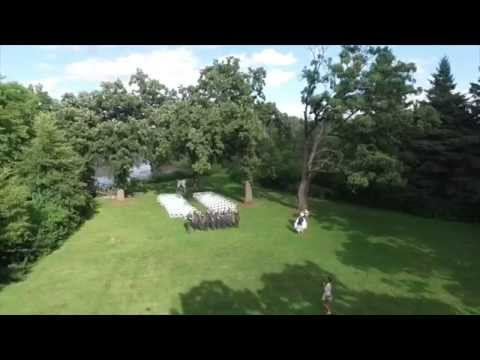 Wedding Drone Video Heather and Zach
