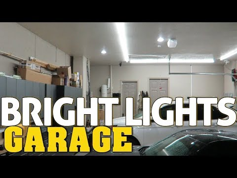 SUPER BRIGHT LED Garage/WorkShop LIGHTING | Best Garage Lights