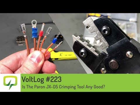 Voltlog #223 - Is The Paron JX-D5 Crimping Tool Any Good?