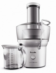Breville BJE200XL Compact Juice Fountain and Juice Extractor