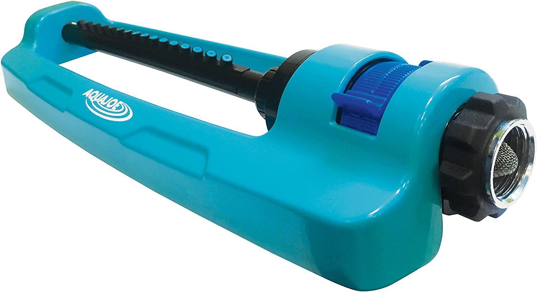 oscillating sprinkler color blue